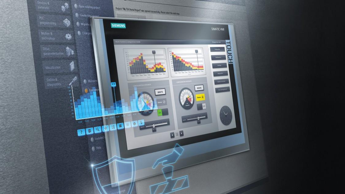 SIMATIC HMI Comfort panels | Machine level HMI | Siemens