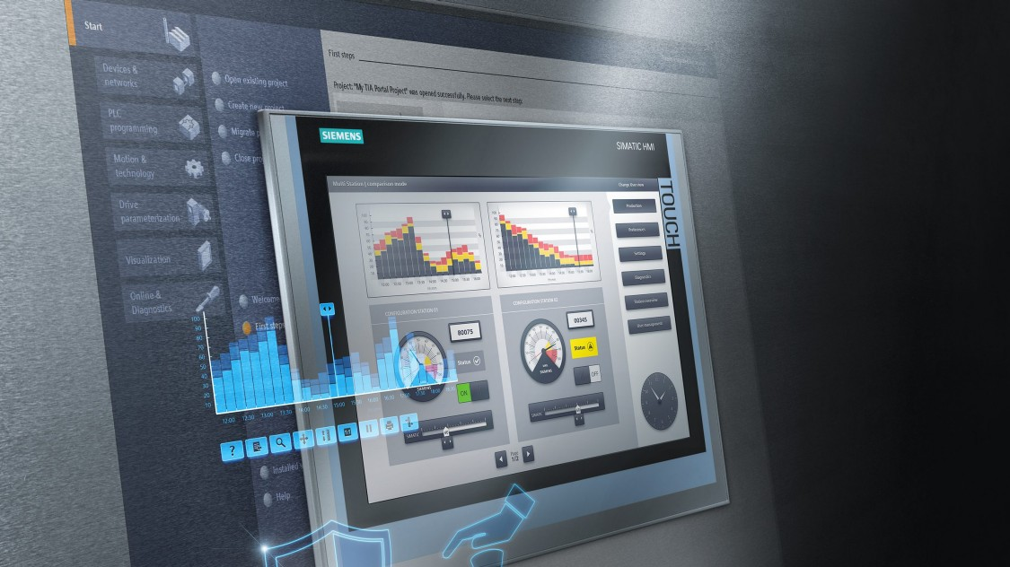 Integrierte Runtime-Funktionalität in SIMATIC HMI-Panels