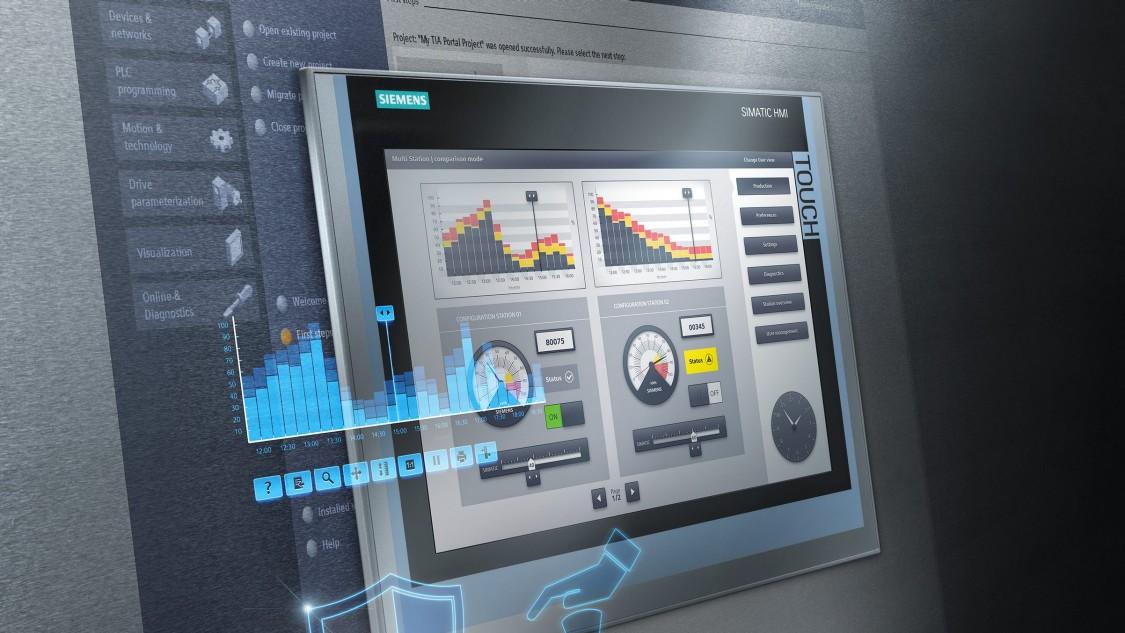 Software für Advanced HMI - Panel based