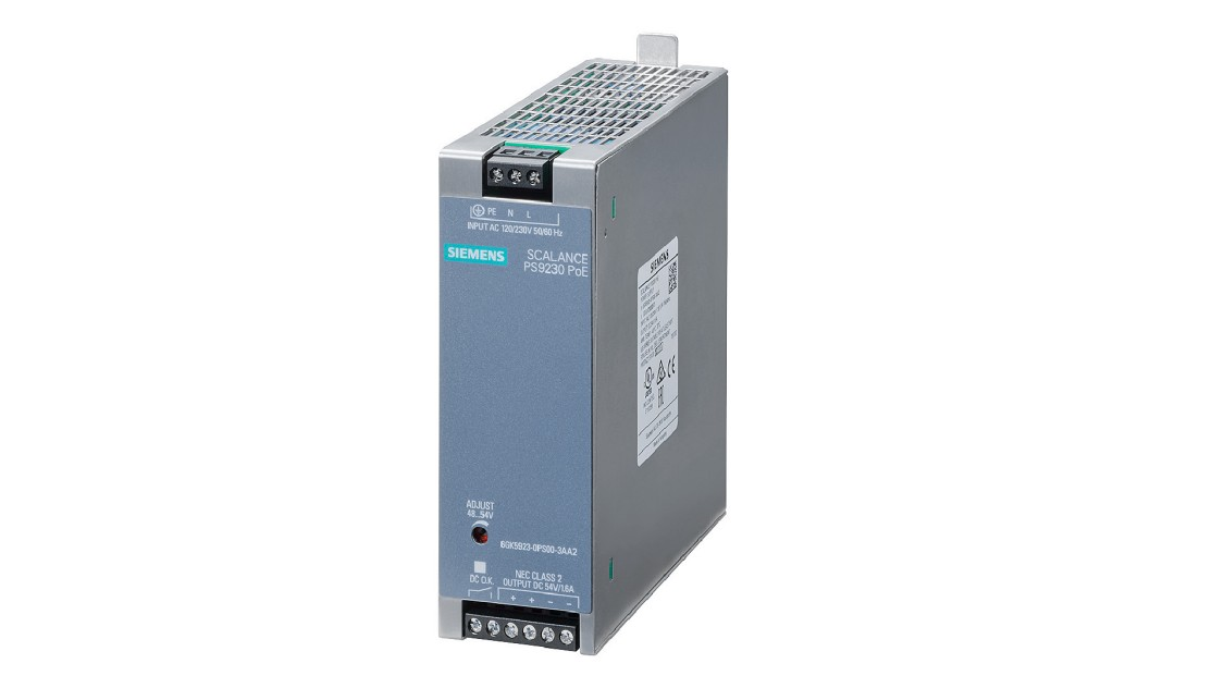 Power supply for SCALANCE X-400 layer 2 switches