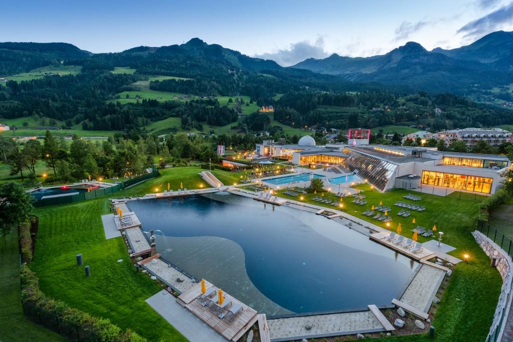 Alpentherme Gastein in Bad Hofgastein, Austria
