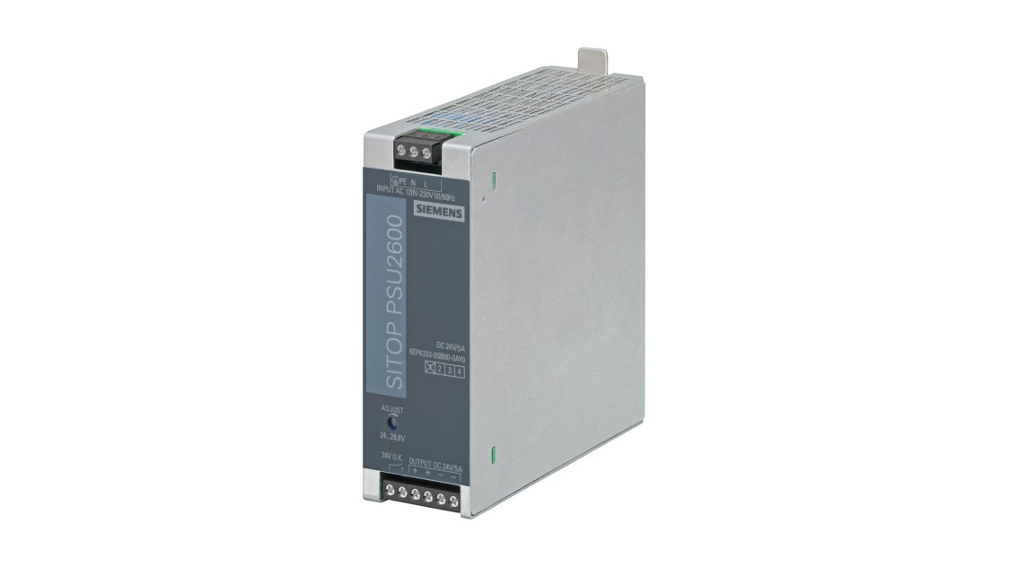 Product image SITOP PSU2600, 1-phase, DC 24 V/5 A