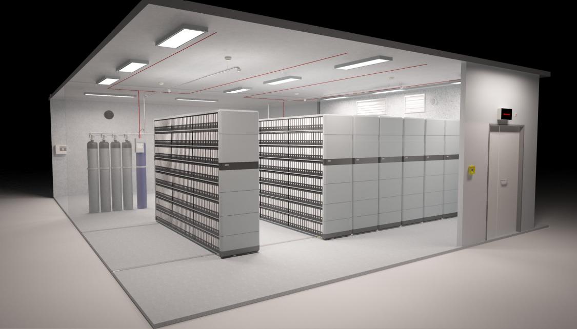 Archive und gesicherte Lagerräume