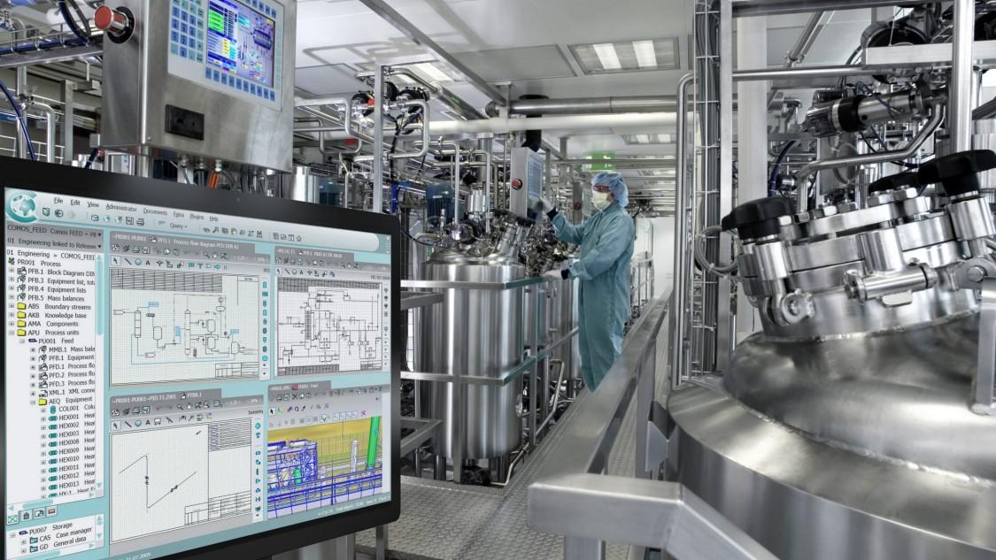 凭借 COMOS PQM 全面的技术工厂文档管理,缩短项目周期。