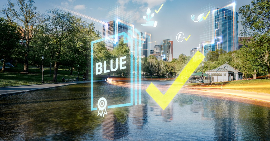 SoME Campaign EcoTransparency blue products