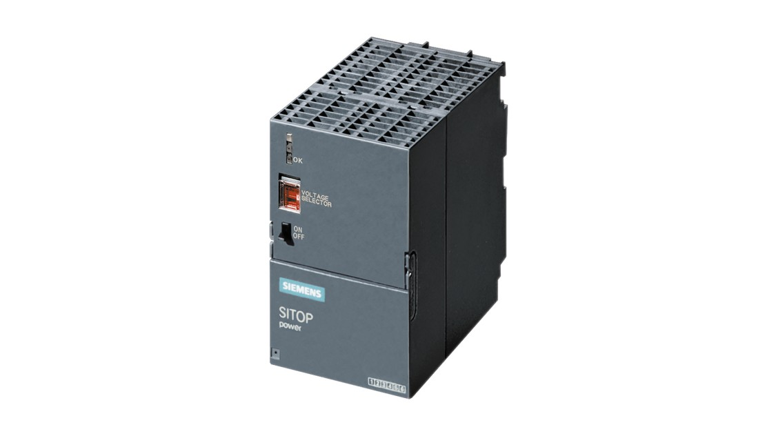 SIMATIC S7-300 PS307 input: 120/230 V AC, output: 24 V/5 A DC