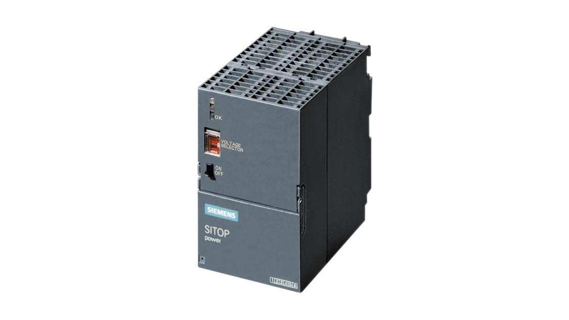 Fotografie produktu SITOP v designu SIMATIC S7-300, venkovní, PS 307, 24 V/5 A