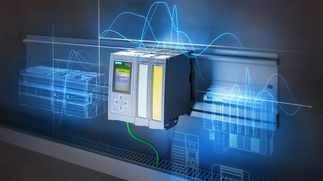 Siemens technologie SIMATIC zahrnuje moderní prvky průmyslové komunikace.