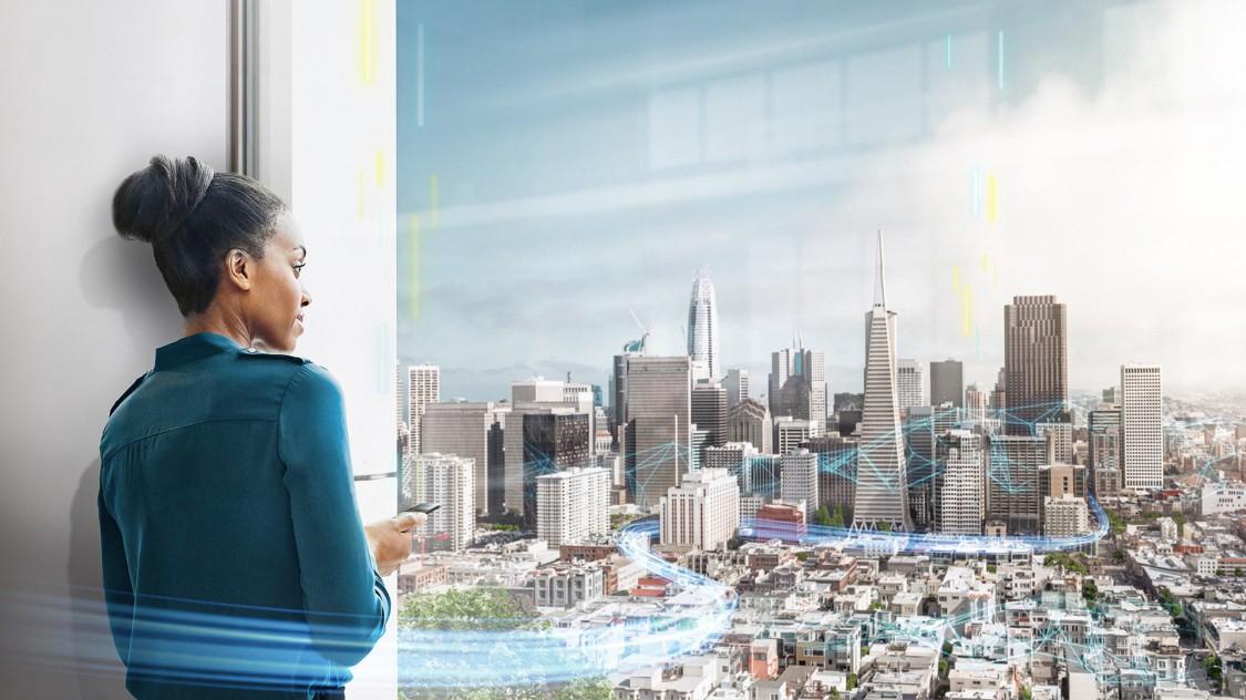 Visual Smart buildings