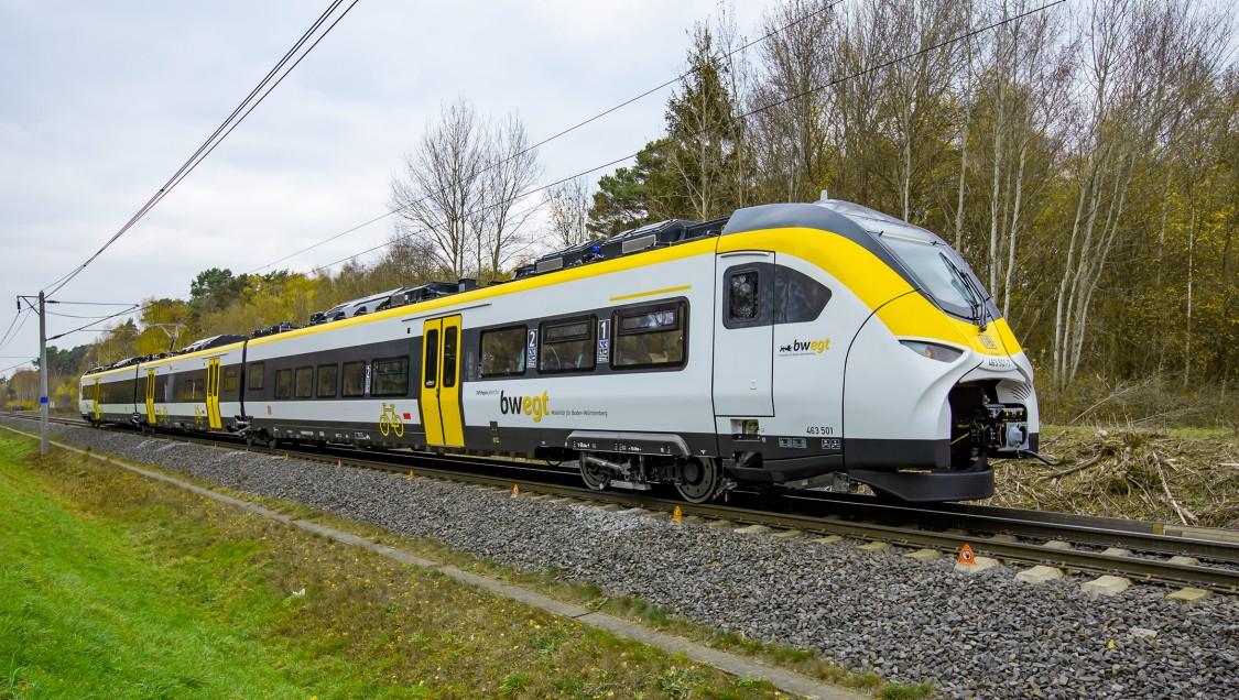 Mireo regional train