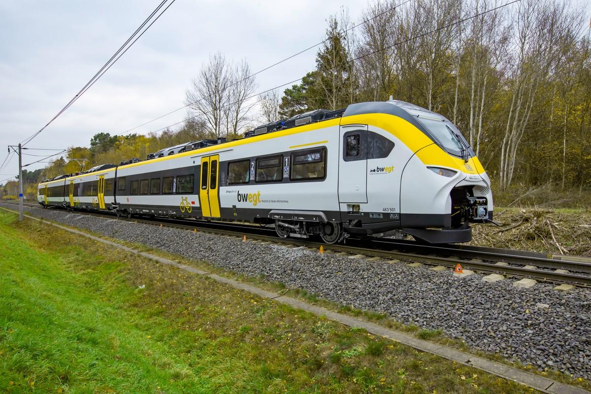 Für Baden-Württemberg unterwegs: Ab 2020 steht der Mireo für einen komfortablen Nahverkehr der Extraklasse.