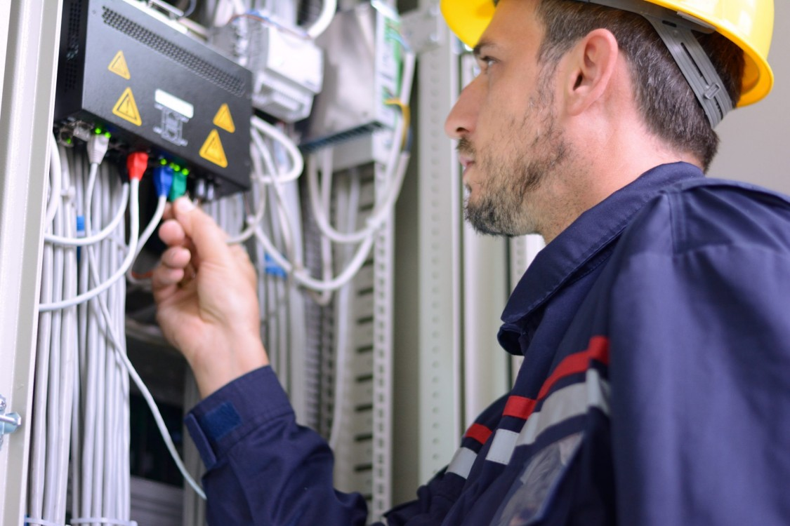 electrical testing installation