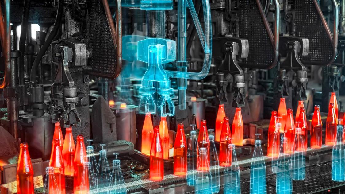 Lösungen für die Glasindustrie Key Visual