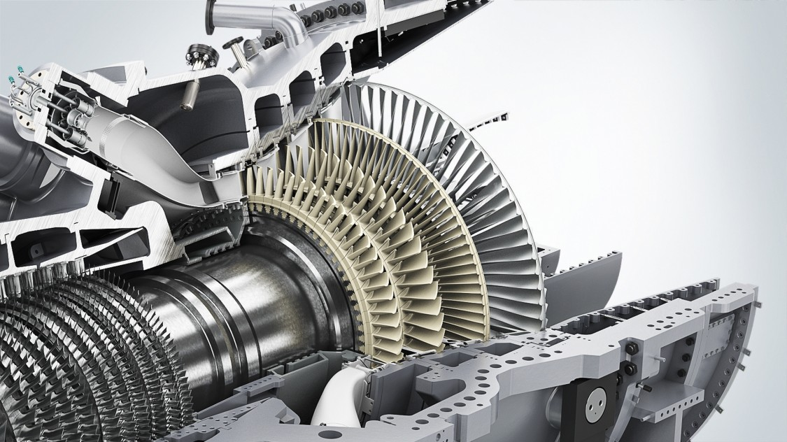 Силовая турбина SGT6-5000F