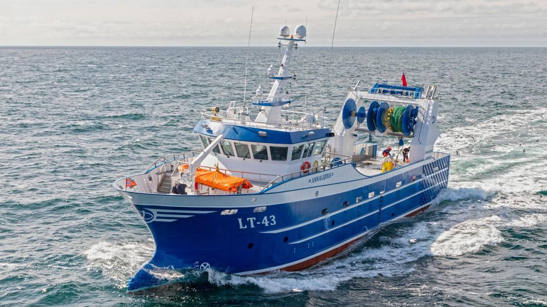 Elektrische lieren aanwinst voor visserij