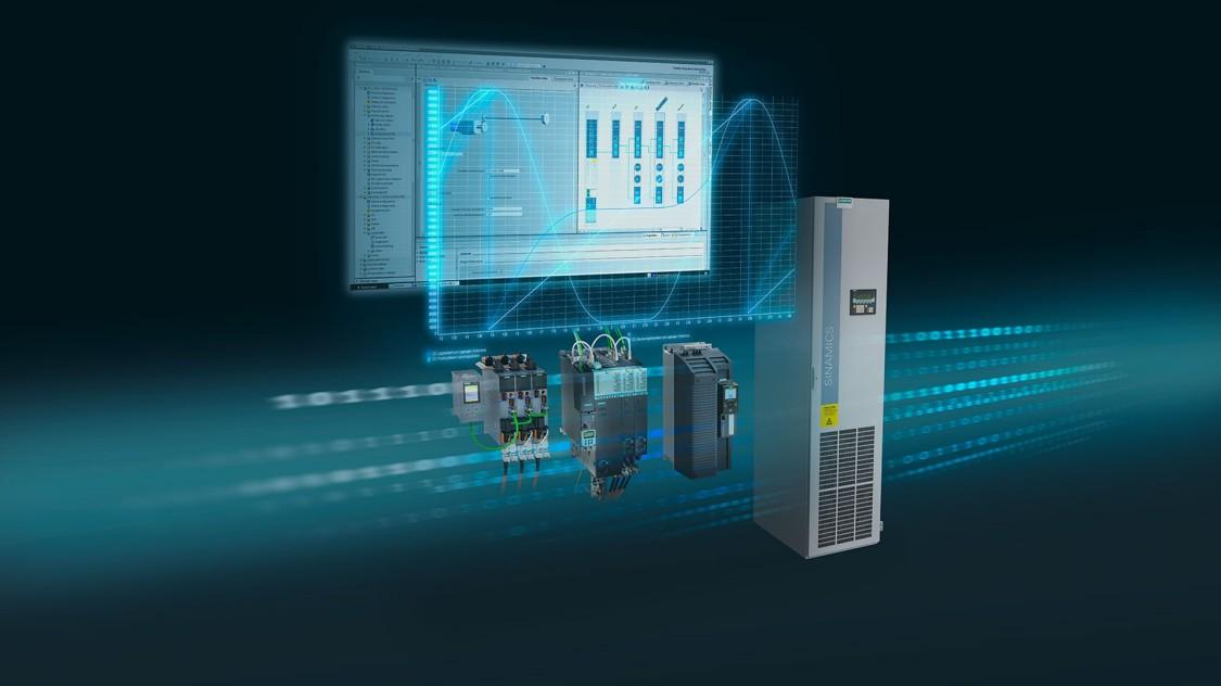 Antriebsintegration mit der Inbetriebnahmesoftware SINAMICS Startdrive