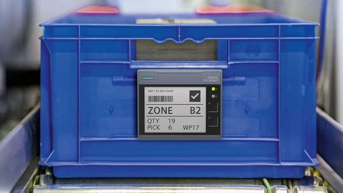 SIMATIC RTLS для управления контейнерами