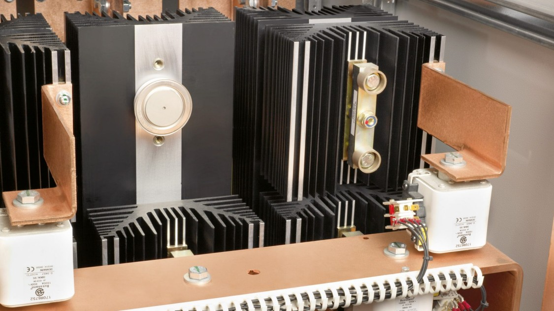 detail of an rectifier