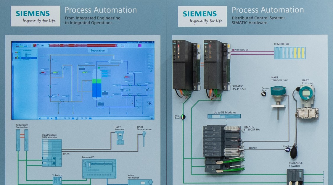 USA - C.B. Moore Solutions Center instrumentation and automation demo walls