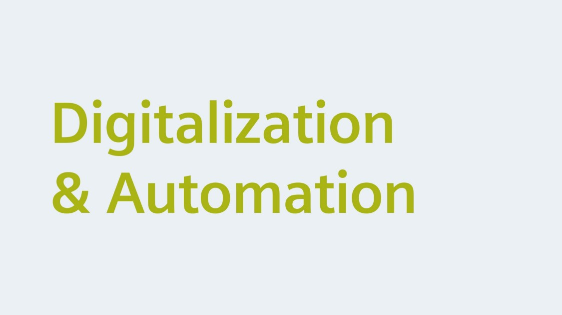 Digitalization & Automation