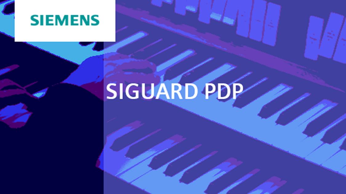 SIGUARD PDP - Grid monitoring using synchrophasors