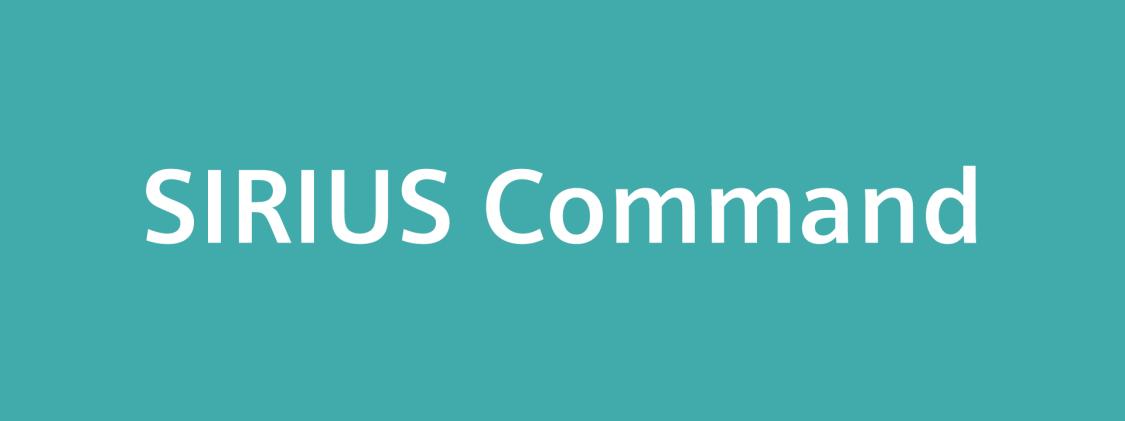 SIRIUS Command logo