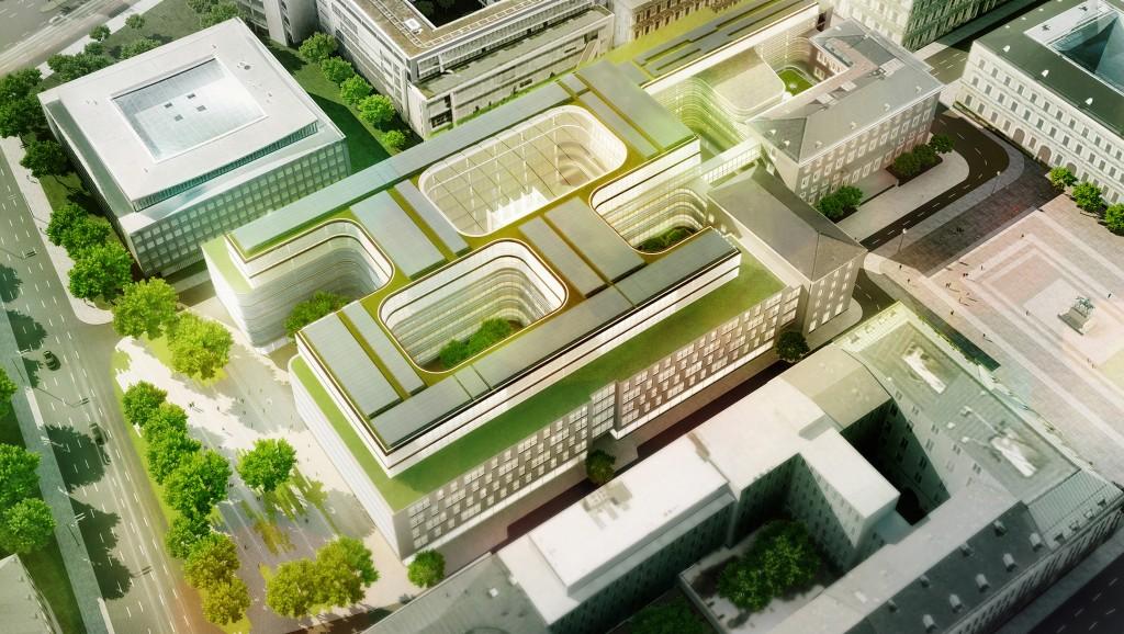 Entscheidung des Architektenwettbewerbs zum Neubau der Siemens-Konzernzentrale in München