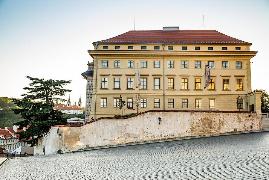Salmovský palác rekonstrukce reference Siemens