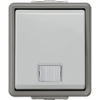 Вимикачі з контрольною лампою IP44