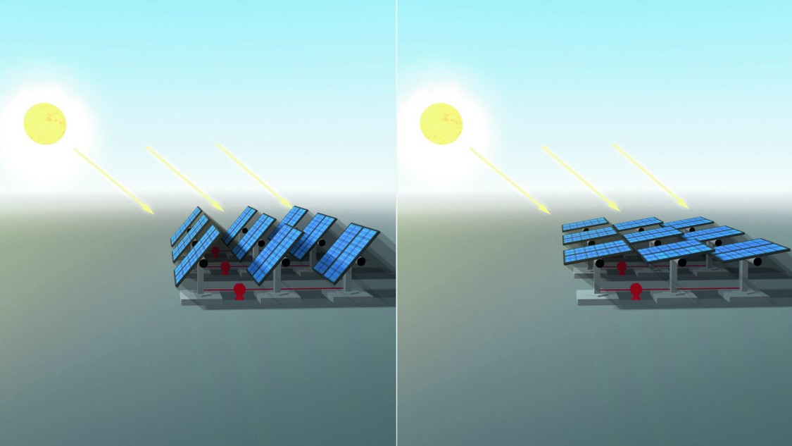 Solar Back Tracker