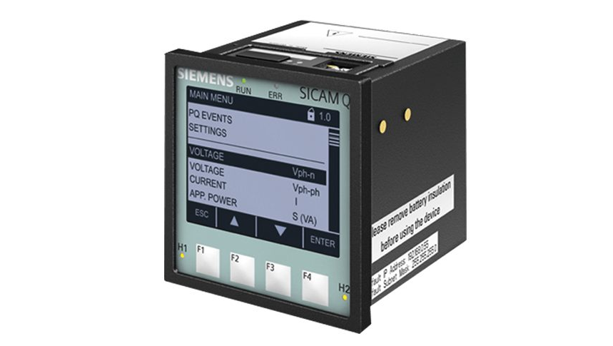 Power Quality Recorder SICAM Q100 Vorderansicht