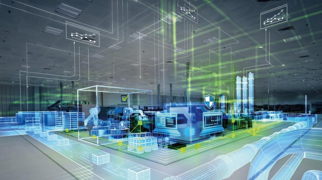 Futuristic production space
