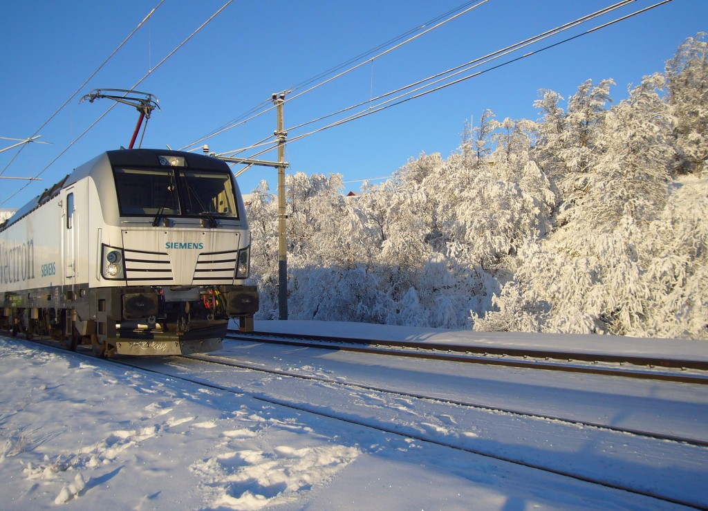 In the picture: Vectron in Norway