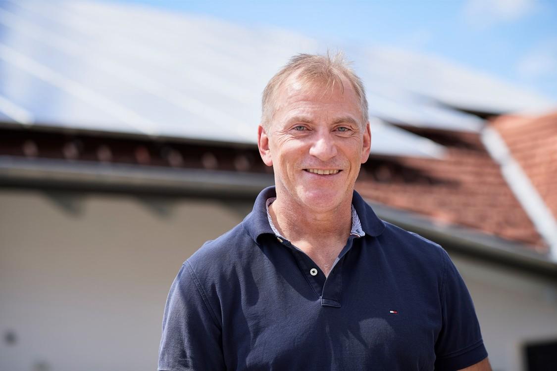 Günter Mögele, Prosumer und stellvertretender Bürgermeister von Wildpoldsried