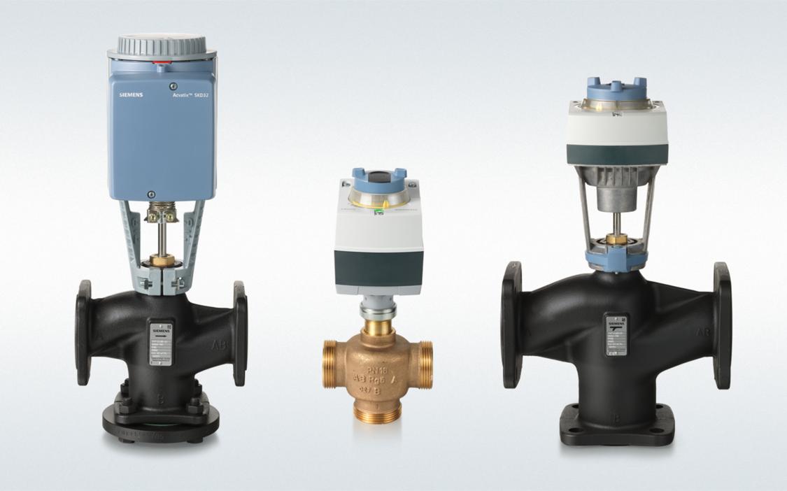 Globe valve from Siemens
