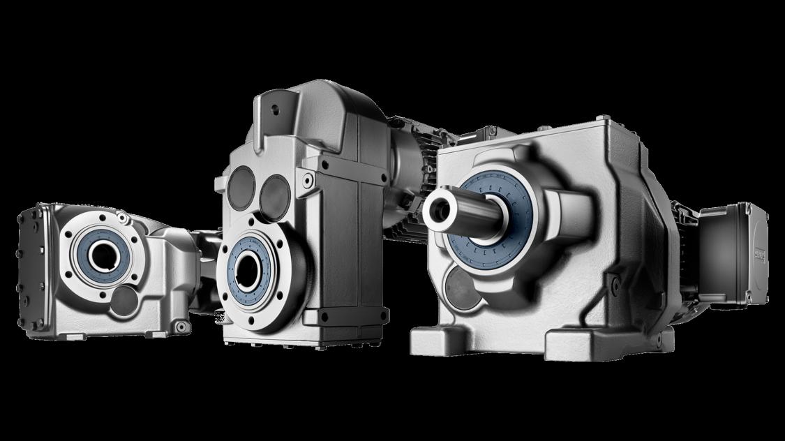 Übersicht von SIMOGEAR Getriebemotoren