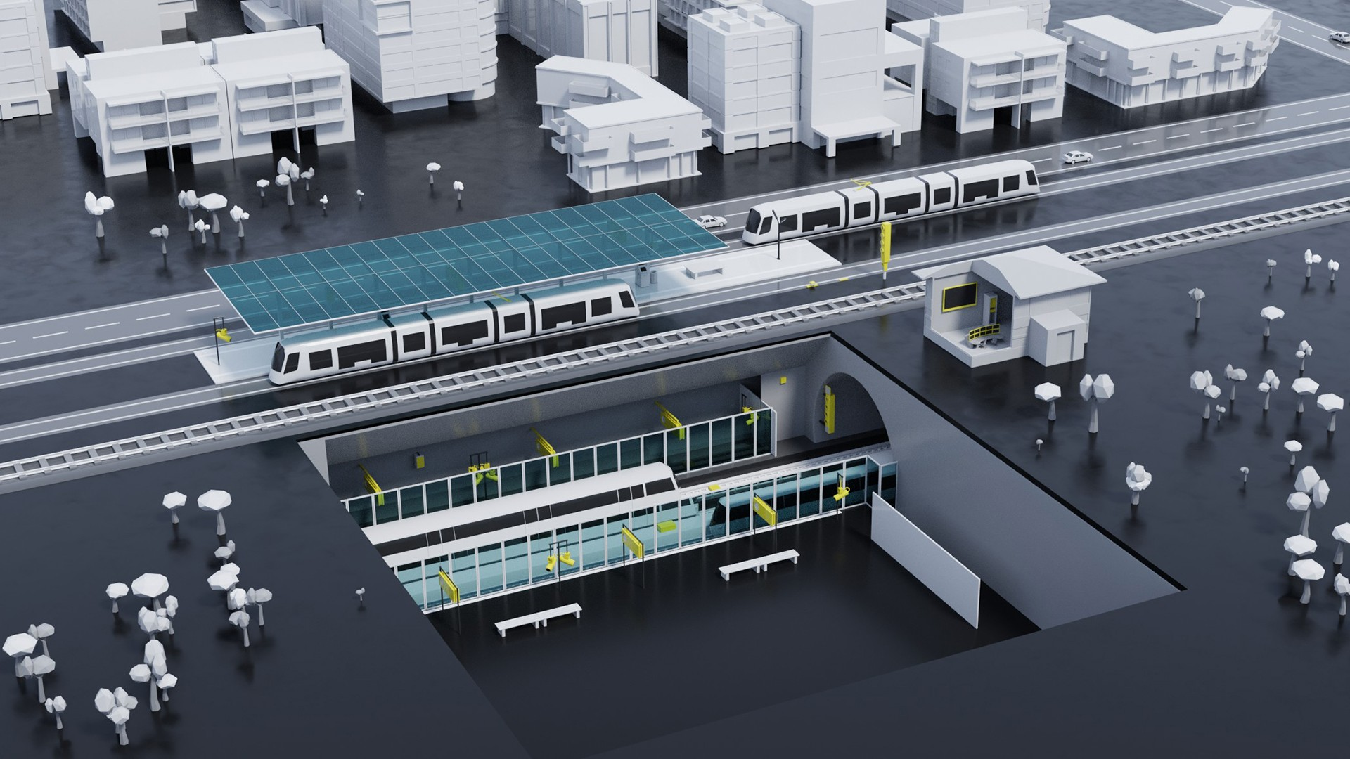 Solutions for mass transit railways | Rail automation | Siemens