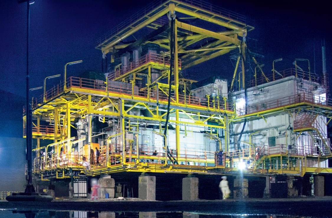 E-houses and modules for oil and gas