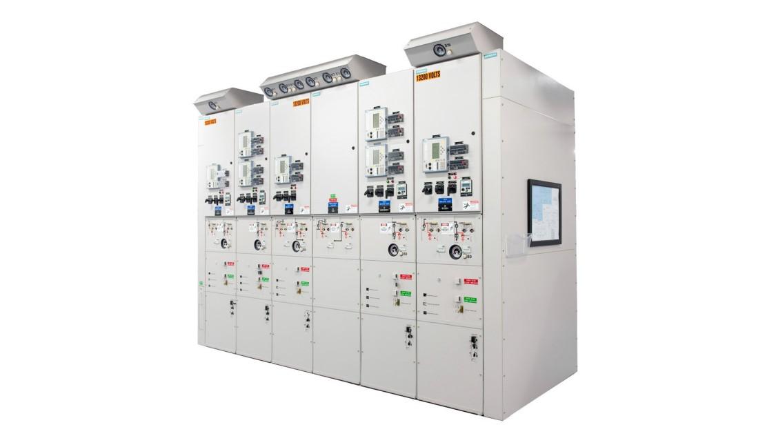 8DA10 medium-voltage arc-resistant switchgear