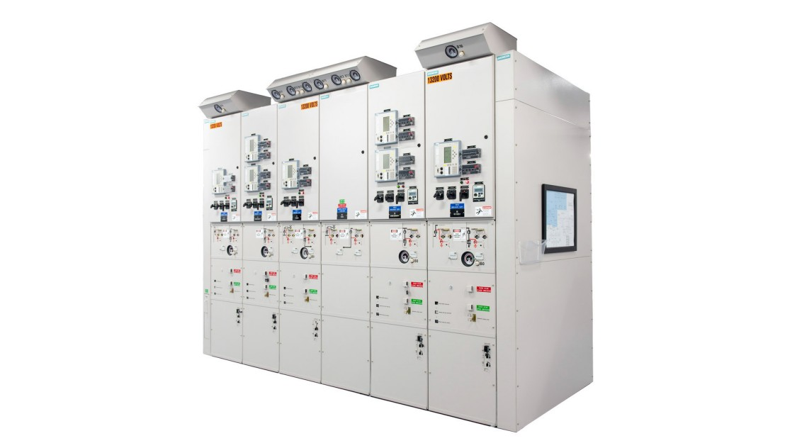 Gas-insulated, arc-resistant, up to 38 kV switchgear, types 8DA10 single bus and 8DB10 double bus