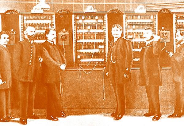 Siemens ilk telgraf hattı