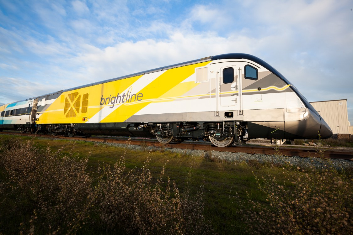 Our Day at the Brightline Trainset Unveil (PHOTO BLOG)