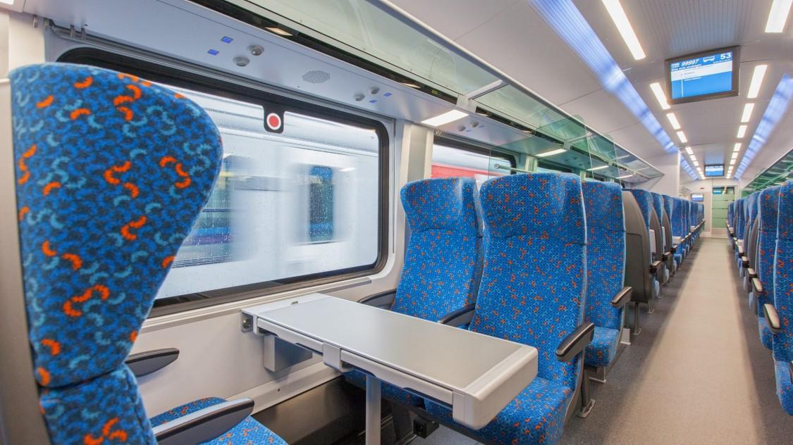 Viaggio Comfort – Czech Railways (ČD), Railjet: economy class