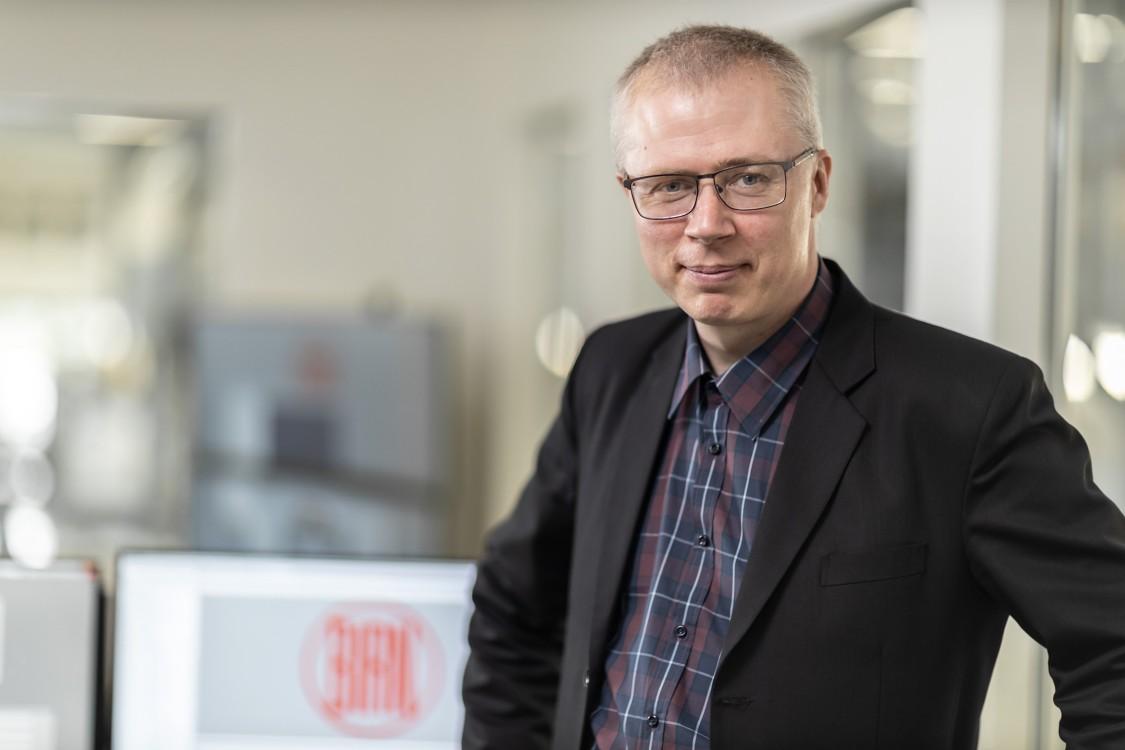 Foto von Jens Vallentin Hansen, Projektmanager – CED Experte, Vald. Birn A/S