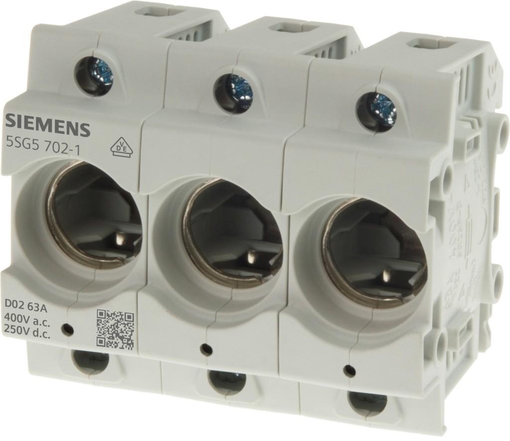 Siemens develops new Neozed fuse bases
