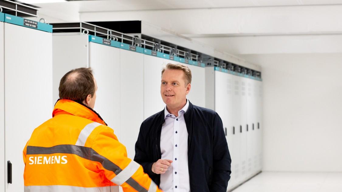 Thomas Hovmand Larsen er salgssjef i Siemens Smart Infrastructure i Danmark. Foto: Lone Petersen, Børsen Creative