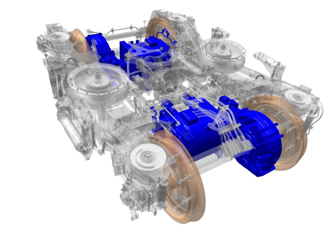 Antrieb  (Motor und Getriebe)