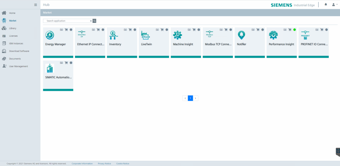 Med Machine Insight, en av många appar, kan BIAB planera produktionsstopp för att undvika oförutsedda stopp.