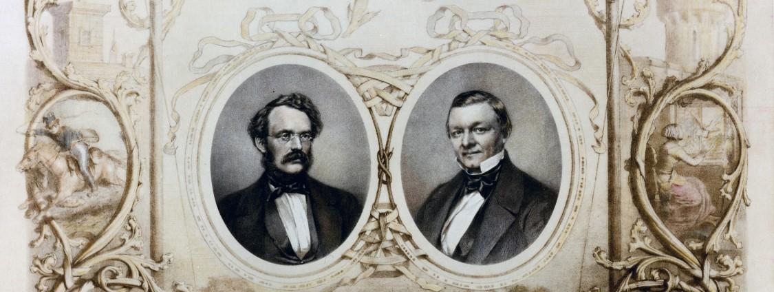 Werner von Siemens und Johann Georg Halske