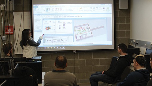 Oakland University offers Industrial Engineering students hands-on, real world learning with Siemens Digital Industries Software